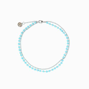 Beaded Chain Anklet