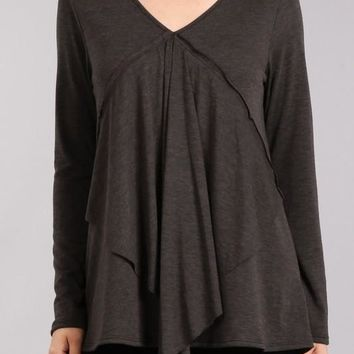 Diamond Layered Top