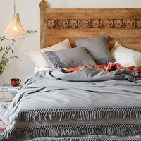 Magical Thinking Net Tassel Duvet Cover-