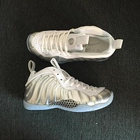 Nike Air Foamposite One Chrome Sneakers