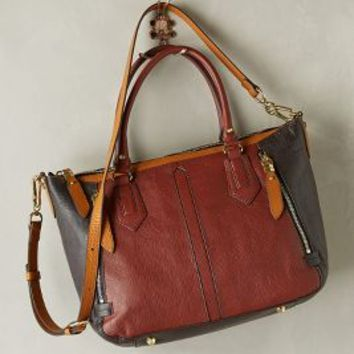Senlis Satchel by Oryany Crimson One Size Bags