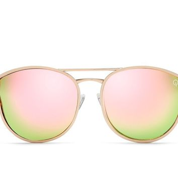 Quay Cherry Bomb Rose Gold / Pink Sunglasses