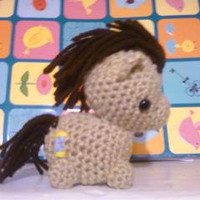 Doctor Whooves My Little Pony Crocheted Plush