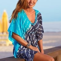 Tie dye tunic Cover Up