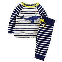 Boys Clothing Set Children's Sports Suits Kids Fashion Baby Boy Clothes Animal Applique Tops+Pants Outfits