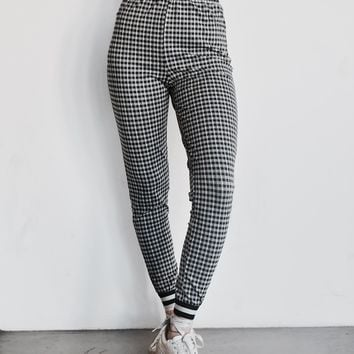 """Giddy for Gingham"" Pants"