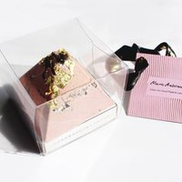 Marie Antoinette Large Pink 24 K Gold Oreo Chocolate