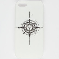 Sun Compass Iphone 5/5S Case White/Black One Size For Women 25208316801