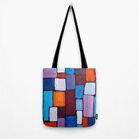 Composition Tote Bag by mariameesterart