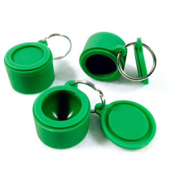 Keychain Silicone Container