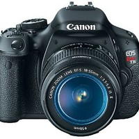 Canon EOS Rebel T3i 18MP DSLR Camera w/EF-S 18-55mm IS II Len — QVC.com