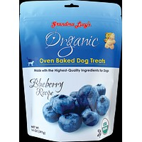 Grandma Lucy's Organic Dog Treat Blueberry 14 oz