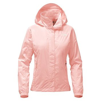 Women's Resolve 2 Jacket in Tropical Peach by The North Face