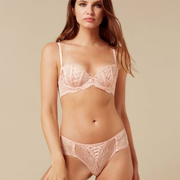 Peachy Nude Brief   By Agent Provocateur