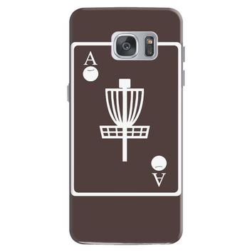 disc golf ace card target chains frisbee basket Samsung Galaxy S7
