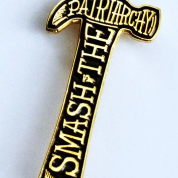 The Betty Collection: Smash the Patriarchy Enamel Pin