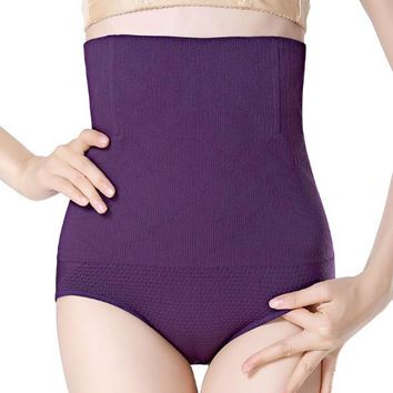 Seamless Women High Waist Slimming Tummy Control Knickers Pants Pantie Briefs Shapewear Magic Body Shaper Lady Corset Underwear