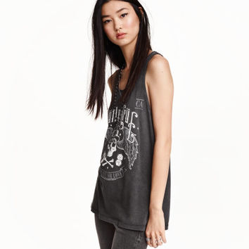 H&M Tank Top with Printed Design $17.99