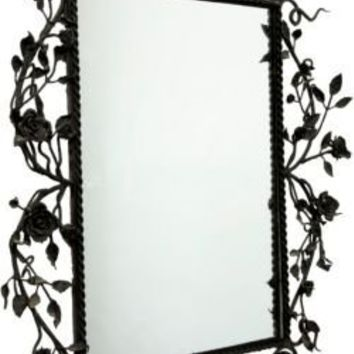 One Kings Lane - Lillian August - Vintage Wrought Iron Mirror