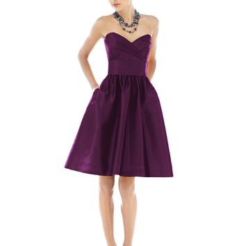 Dessy Alfred Sung D542 In Stock Bridesmaid Dress