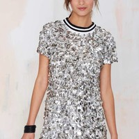 Dress Gallery Satellite Paillette Sequin Dress