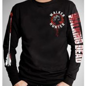 The Walking Dead Long Sleeve Walker Hunter Tee