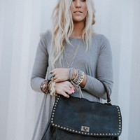 Loved Leather Hobo Bag - Black