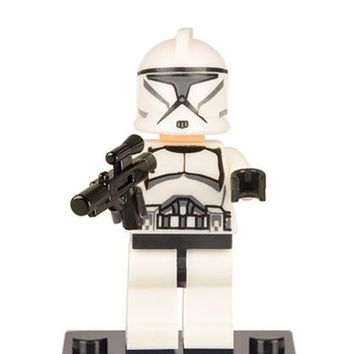 GUSUG 20pcs XH021 WHITE Clone Trooper Building blocks Bricks best gift DIY Baby Toys