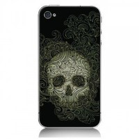 iPhone4/4s Protection Case With Dazzle Cruel Skeletons