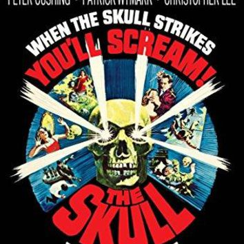 Peter Cushing & Christopher Lee & Freddie Francis-Skull