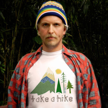 Take A Hike Men's Perfect Fit T Shirt T Shirt by trulysanctuary