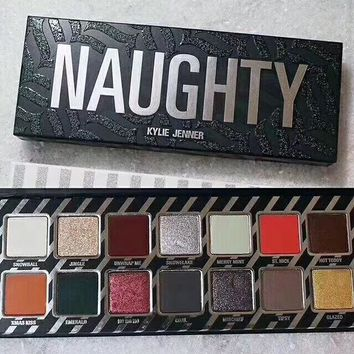 Beauty Naughty Nice Kylie Jenner Make-up Professional Stylish Eye Shadow Make-up Palette [125464182799]