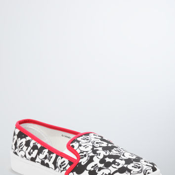 Mickey Mouse Slip-On Sneakers (Wide Width)