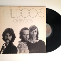LP Album The Doors Other Voices Vinyl Record 1971 No Jim Morrison Ships with Sails Im Horny Im Stoned