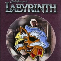 Labyrinth | Sir Didymus ENAMEL PIN