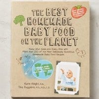 The Best Homemade Baby Food On The Planet by Anthropologie in Khaki Size: One Size Books