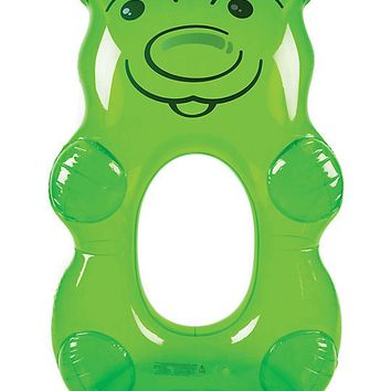 Big Mouth Inc. Giant Green Gummy Bear Pool Float