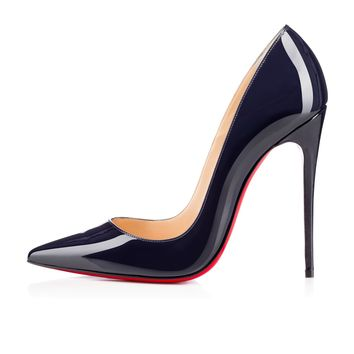 So Kate 120mm Nuit Patent Leather