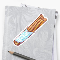 'Churro' Sticker by MagicalNoms