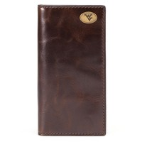Jack Mason Brand West Virginia Mountaineers Legacy Tall Wallet