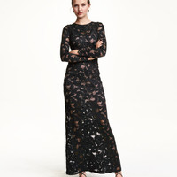 H&M Lace Maxi Dress $69.99