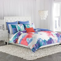 Amy Sia Painterly Comforter Set (Blue)