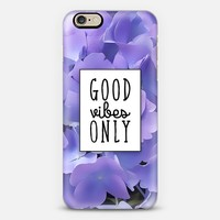Good Vibes Only iPhone 6s case by Noonday Design | Casetify