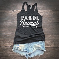 Pardi Animal Country Music Tank Top