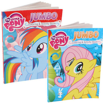 Wholesale My Little Pony Coloring and Activity Book - Asst
