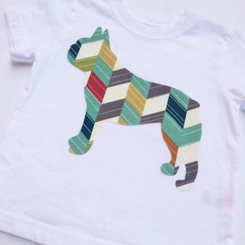 French Bulldog Shirt, Birch Fabrics