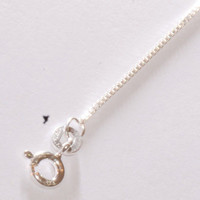 """012 Box Chain .925 Sterling Silver 16"""" 18"""" 20"""" 22"""" Great for Pendants"""