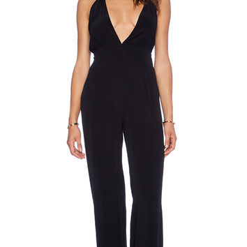 FAITHFULL THE BRAND Agenda Jumpsuit in Black