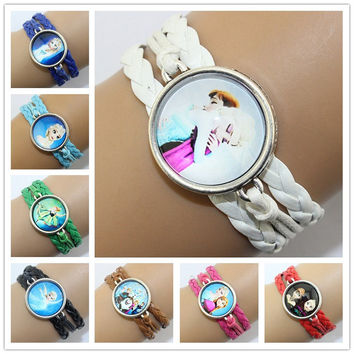 Frozen Time Diamond Handmade Cartoon Bracelet