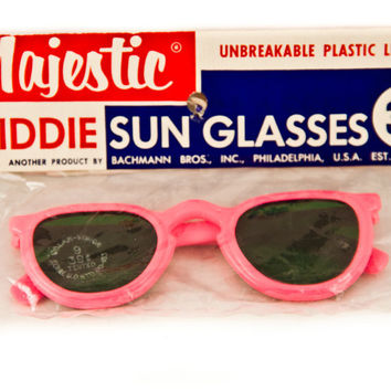 1960's Vintage Sunglasses in Original Packaging by goodmerchants